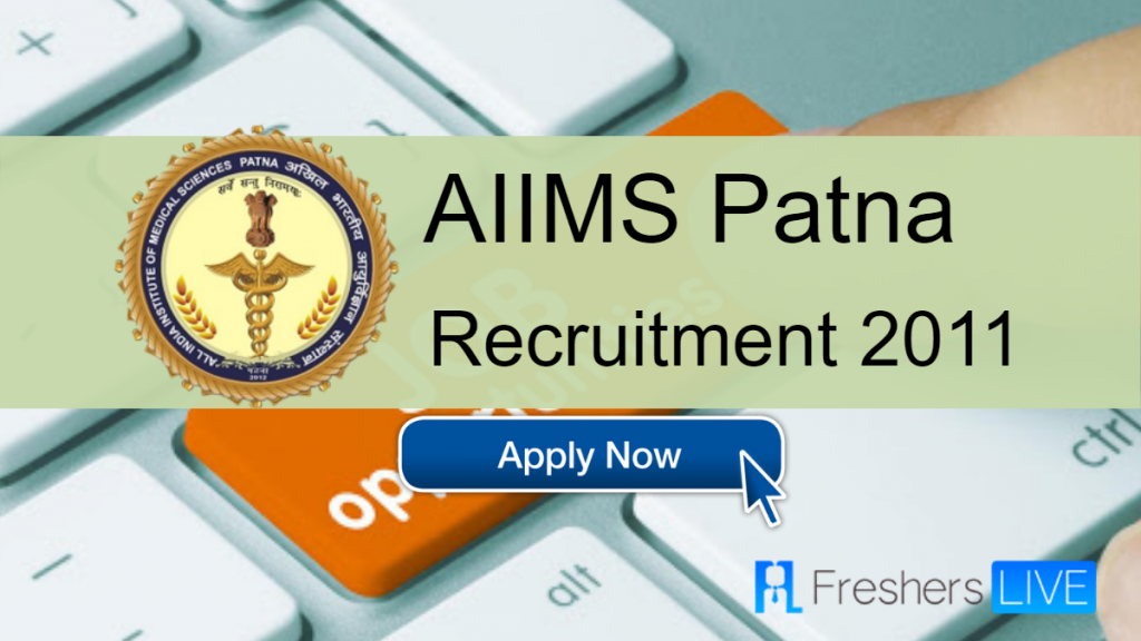 AIIMS Patna Data Entry Operator jobs in Patna for freshers